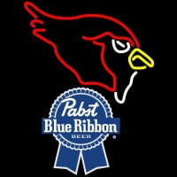 Pabst Blue Ribbon Arizona Cardinals NFL Neon Sign Neon Sign
