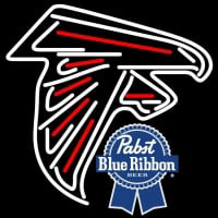 Pabst Blue Ribbon Atlanta Falcons NFL Neon Sign Neon Sign