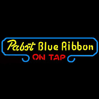 Pabst Blue Ribbon On Tap Beer Sign Neon Sign