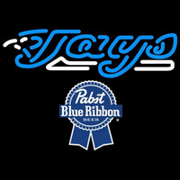 Pabst Blue Ribbon Toronto Blue Jays MLB Beer Sign Neon Sign