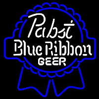 Pabst Blue White Ribbon Beer Sign Neon Sign