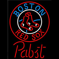 Pabst Boston Red Sox MLB Beer Sign Neon Sign