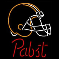 Pabst Cleveland Browns NFL Beer Neon Sign Neon Sign