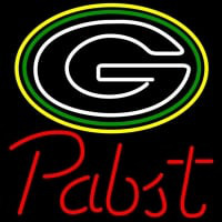 Pabst Green Bay Packers NFL Beer Neon Sign x Neon Sign