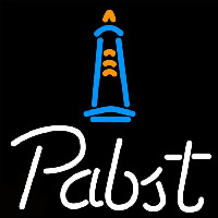 Pabst Light House Beer Sign Neon Sign