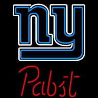 Pabst New York Giants NFL Beer Neon Sign Neon Sign