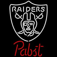Pabst Oakland Raiders NFL Beer Neon Sign Neon Sign