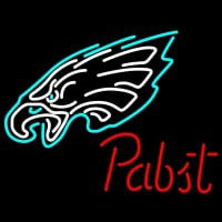 Pabst Philadelphia Eagles NFL Beer Neon Sign Neon Sign