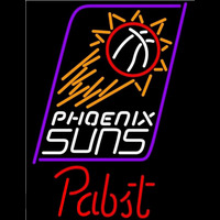 Pabst Phoenix Suns NBA Beer Sign Neon Sign