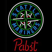 Pabst Seattle Mariners MLB Beer Sign Neon Sign