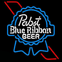 Pabst Skyblue Red Ribbon Beer Sign Neon Sign