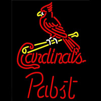 Pabst St Louis Cardinals MLB Beer Sign Neon Sign