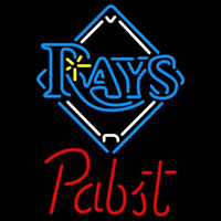 Pabst Tampa Bay Rays MLB Beer Sign Neon Sign
