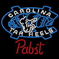 Pabst Unc North Carolina Tar Heels Beer Sign Neon Sign