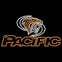 Pacific Tigers Alternate Pres Logo NCAA Neon Sign Neon Sign