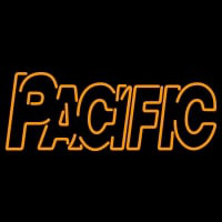 Pacific Tigers Wordmark Logo NCAA Neon Sign Neon Sign