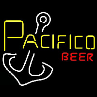 Pacifico Beer Anchor Neon Sign