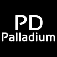 Palladium White Neon Sign