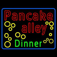 Pancake Alley Dinner Neon Sign