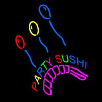 Party Sushi Neon Sign