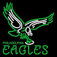 Philadelphia Eagles Alternate   Logo NFL Neon Sign Neon Sign