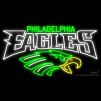 Philadelphia Eagles Real Neon Glass Tube Neon Signs Neon Sign