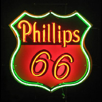 Phillips 66 Gasoline Neon Sign