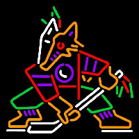 Phoenix Coyotes Alternate 1996 97 2002 03 Logo NHL Neon Sign Neon Sign