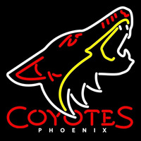 Phoenix Coyotes Alternate 2003 04 2006 07 Logo NHL Neon Sign Neon Sign