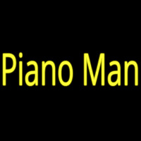 Piano Man Neon Sign
