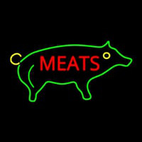 Pig Meats Neon Sign