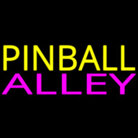 Pinball Alley 2 Neon Sign