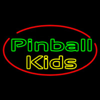 Pinball Kids Neon Sign