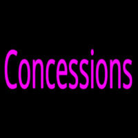 Pink Concessions Neon Sign