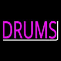 Pink Drums 1 Neon Sign