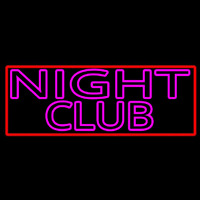 Pink Night Club Neon Sign