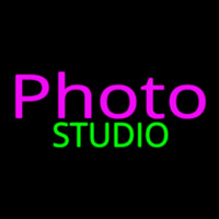 Pink Photo Studio Neon Sign
