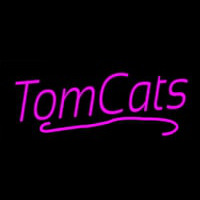 Pink Tom Cats Neon Sign