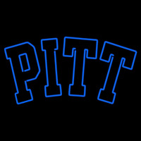 Pittsburgh Panthers Primary 2005 Pres Logo NCAA Neon Sign Neon Sign