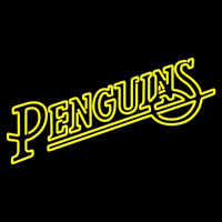 Pittsburgh Penguins Wordmark 1988 89 1991 92 Logo NHL Neon Sign Neon Sign