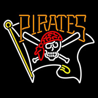 Pittsburgh Pirates Alternate 1997 2009 Logo MLB Neon Sign Neon Sign