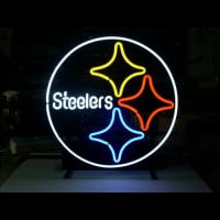 Pittsburgh Steelers Beer Bar Pub Gameroom Neon Light Sign Neon Sign