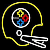 Pittsburgh Steelers Helmet  Logo NFL Neon Sign Neon Sign