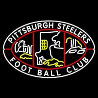 Pittsburgh Steelers Primary   Logo NFL Neon Sign Neon Sign