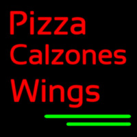 Pizza Calzones Wings Neon Sign