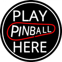 Play Pinball Herw 2 Neon Sign
