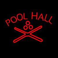 Pool Hall Neon Sign