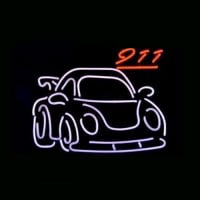 Porsche 911 Gt2 Car Dealer Neon Sign