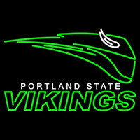 Portland State Vikings Primary 1999 Pres Logo NCAA Neon Sign Neon Sign