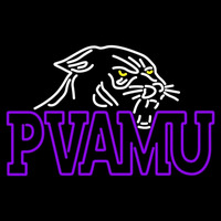 Prairie View A And M Panthers Primary Pres Logo NCAA Neon Sign Neon Sign